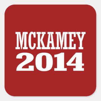 MCKAMEY 2014 SQUARE STICKERS