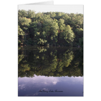 McKamy Lake Chilhowee Mountain Card