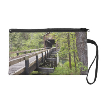McKee covered bridge, Jacksonville, Oregon Wristlet Clutches