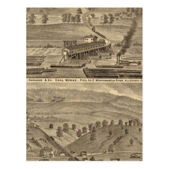 McKeesport Allegheny County, Pennsylvania Postcard