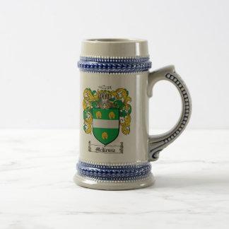 McKenna Coat of Arms Stein