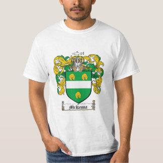 Mckenna Family Crest - Mckenna Coat of Arms T-Shirt