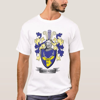McKenzie Family Crest Coat of Arms T-Shirt