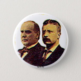 McKinley-Roosevelt - Button