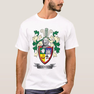 McKinnon Family Crest Coat of Arms T-Shirt