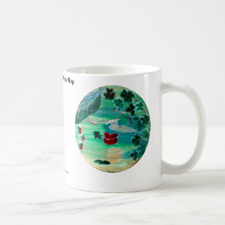 MClairArt's Funny Sun Faces St. Patrick's Gifts Coffee Mug