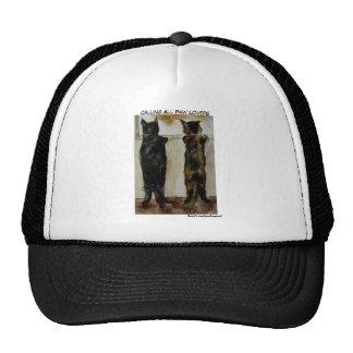 MClairArt's Paw Lovers Art Gifts Trucker Hat