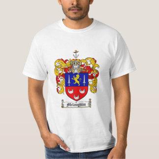 Mclaughlin Family Crest - Mclaughlin Coat of Arms T-Shirt