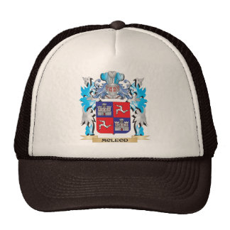 Mcleod Coat of Arms - Family Crest Hat