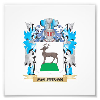 Mclernon Coat of Arms - Family Crest Photo Art