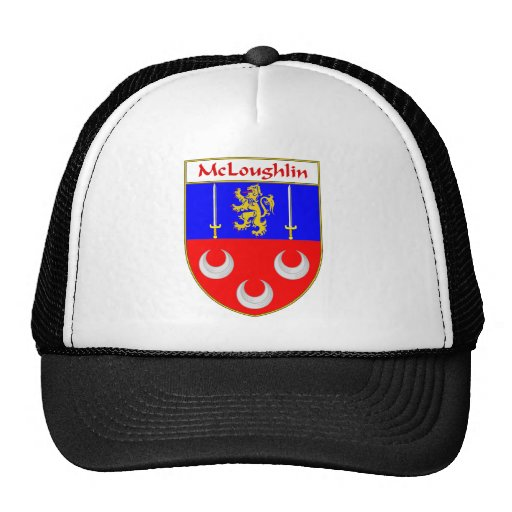 McLoughlin Coat of Arms/Family Crest Hat