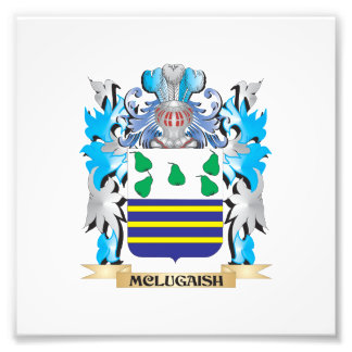 Mclugaish Coat of Arms - Family Crest Photographic Print