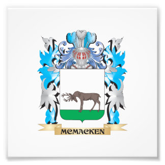 Mcmacken Coat of Arms - Family Crest Photo Art