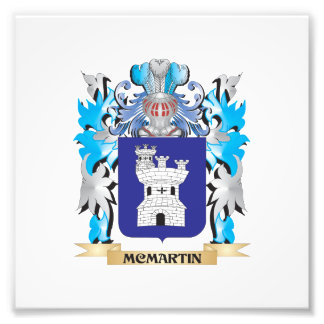 Mcmartin Coat of Arms - Family Crest Photo Print