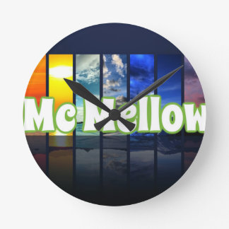 McMellow seasons merchandise Wall Clock