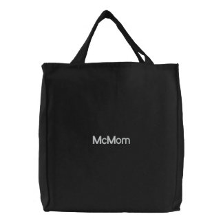 McMom Embroidered Bags