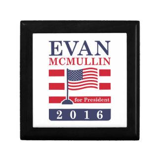 McMullin 2016 Small Square Gift Box