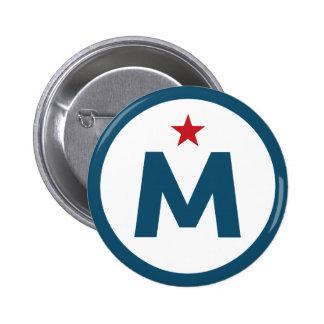 McMullin For President 6 Cm Round Badge