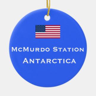 McMurdo Station Christmas Ornament