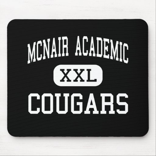 McNair Academic - Cougars - High - Jersey City Mouse Mat