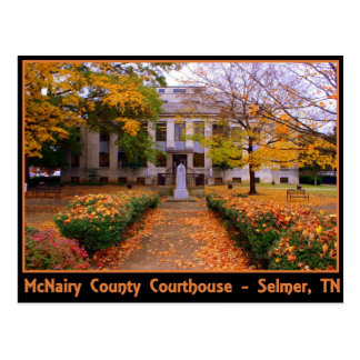 McNairy County Courthouse - Selmer, TN Postcard