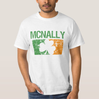 Mcnally Surname Clover Tee Shirts