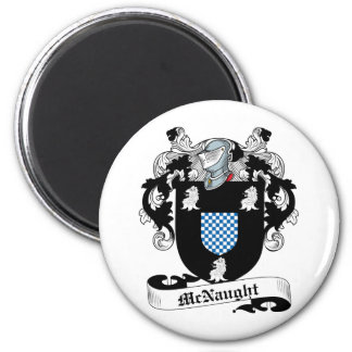 McNaught Family Crest Magnet