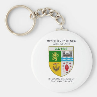 McNeil Family Reunion Keychains