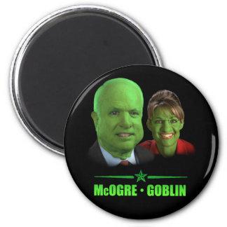 McOgre / Goblin '08 6 Cm Round Magnet