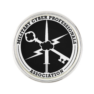 MCPA Black/White Lapel Pin