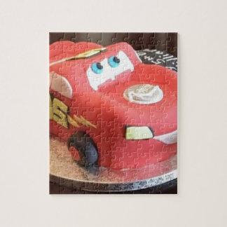 McQueen car cake Jigsaw Puzzle
