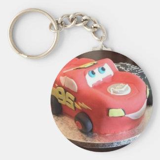 McQueen car cake Key Ring