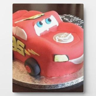 McQueen car cake Plaque