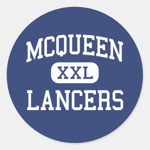 McQueen - Lancers - High School - Reno Nevada Sticker
