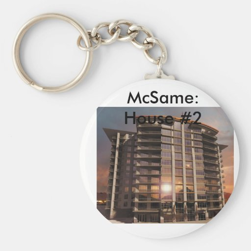 McSame: House #2 Key Chain