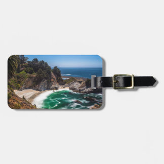 Mcway Falls in Julia Pfeiffer Burns state park Luggage Tag