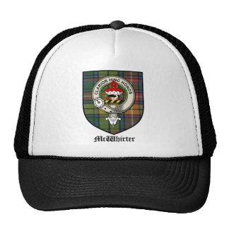 McWhirter Clan Crest Badge Tartan Cap