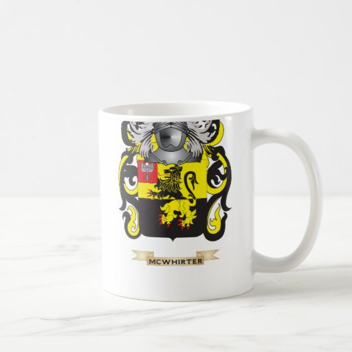 McWhirter Coat of Arms (Family Crest) Coffee Mugs