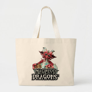 MD Baby Blocks Dragon Jumbo Tote Jumbo Tote Bag