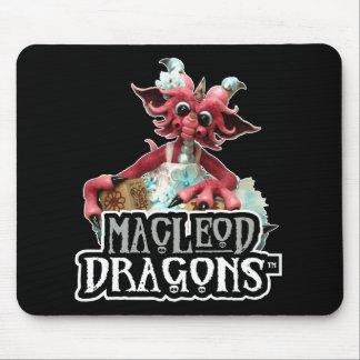 MD Baby Blocks Dragon Mousepad