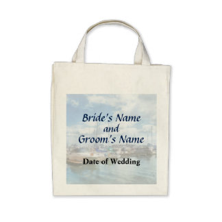 MD - Boat Basin Fells Point Wedding Products Tote Bags