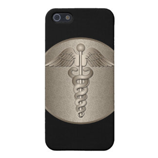 MD Caduceus iPhone 5/5S Cases