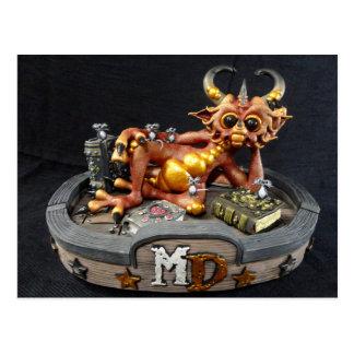MD Fire Dragon Postcard