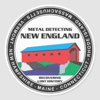 MD New England Sticker