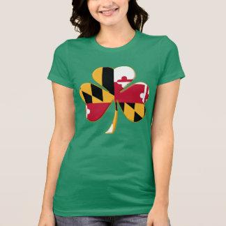 MD Shamrock Flag T-Shirt