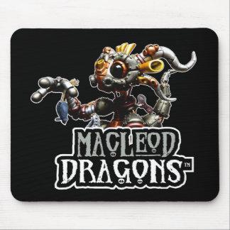MD Steampunk Dragon Mousepad