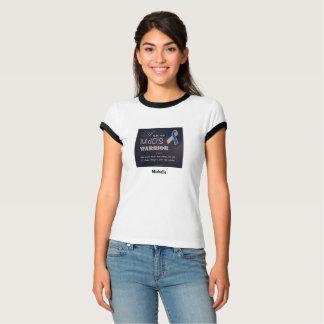 MdDS Awareness Bella+Canvas Ringer T-Shirt