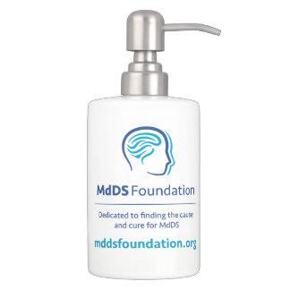 MdDS Toothbrush Holder and Soap Dispenser Set