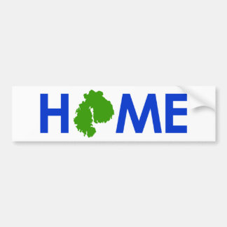 MDI - HOME BUMPER STICKER