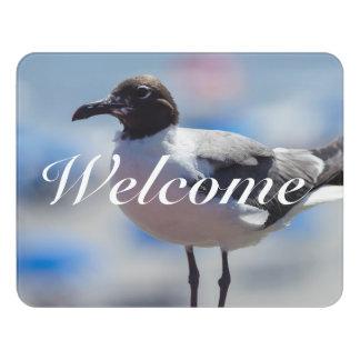 Me A Seagull Door Sign